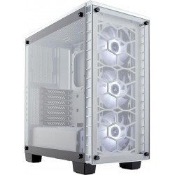 Corsair Crystal White 460X RGB Tempered Glass ATX Chassis