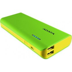 Adata PT100 Green and Yellow 10000mAh Power Bank