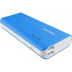 Adata PT100 Blue and White 10000mAh Power Bank