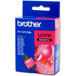 Brother LC47M Magenta Ink Cartridge