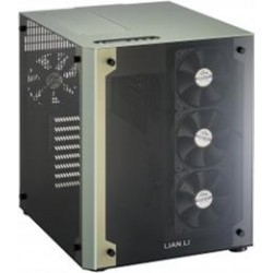 Lian-li PC-O8W Green Dual Tempered Glass Tid Tower ATX...