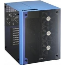 Lian-li PC-O8W Blue Dual Tempered Glass Tid Tower ATX...