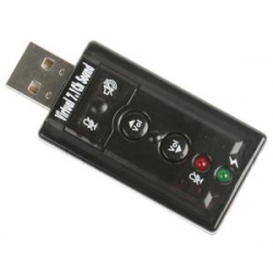 C Media USB 2.0 7.1CH sound adapter- 3 Months Warranty