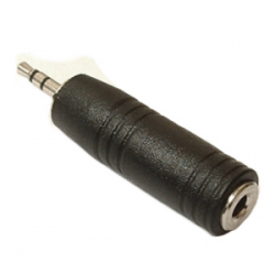 2.5mm Stereo Plug To 3.5mm Female Stereo Adapter