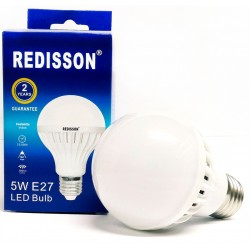 Redisson 5W E27 LED Light Bulb