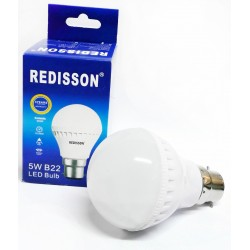 Redisson 5W B22 LED Light Bulb