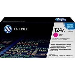 HP 124A LaserJet 2600/2605/1600 Magenta Print Cartridge....