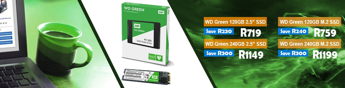 WD Green SSDs